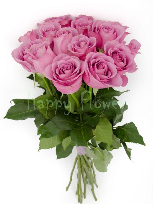 buchet-de-trandafiri lila
