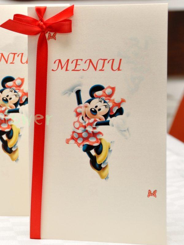 Meniu botez Minnie Mouse