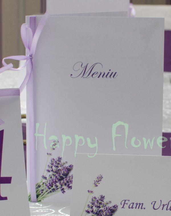 Meniu nunta Levantica