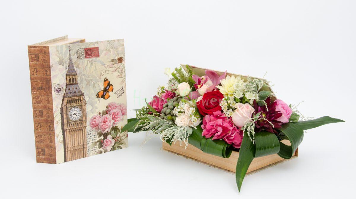carte cu flori