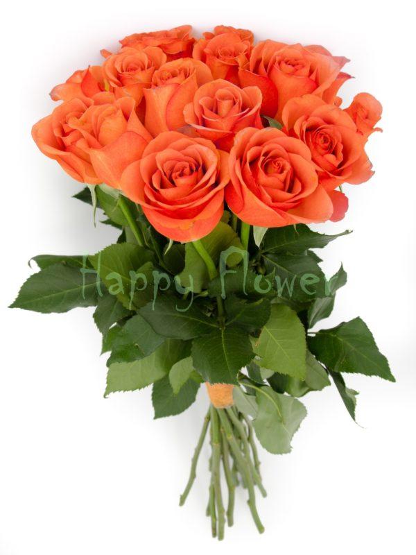 buchet-de-trandafiri portocaliu