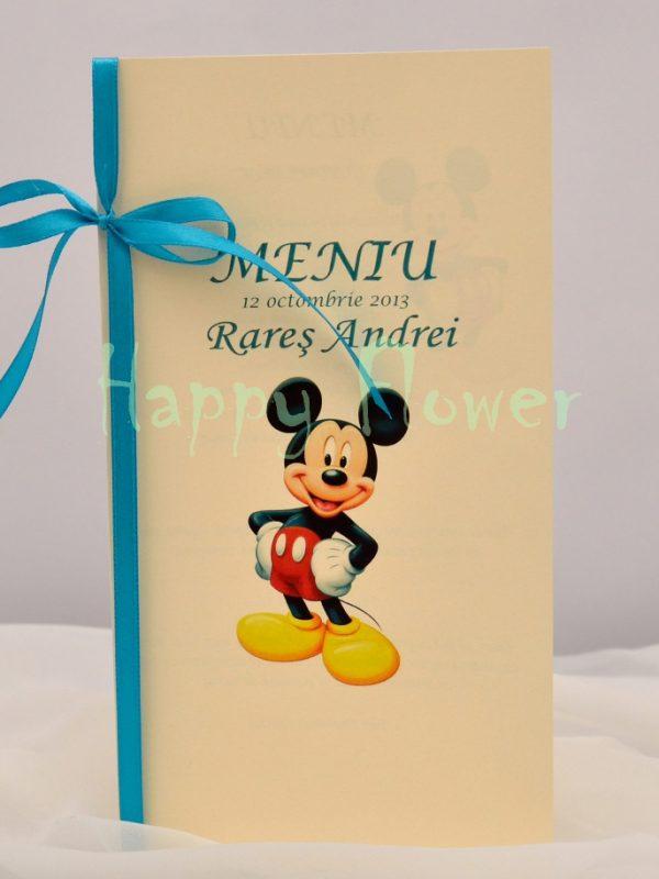 Meniu botez Mickey Mouse