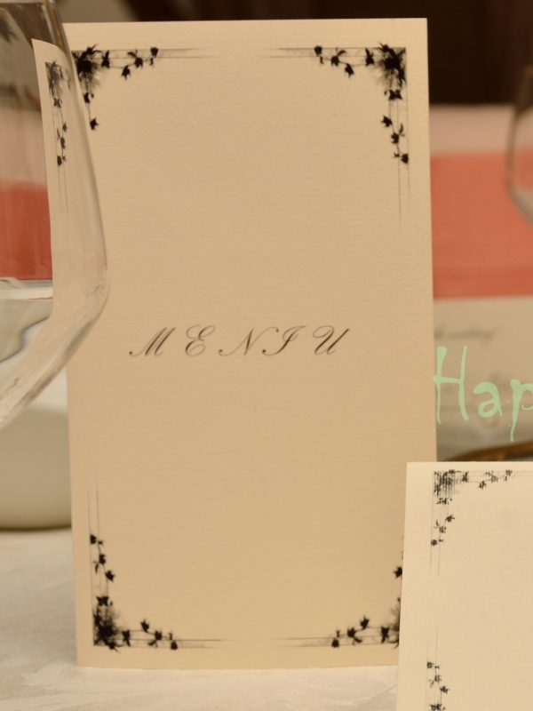 Meniu nunta Black Star