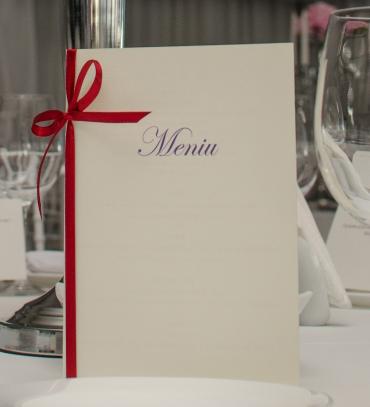 Meniu nunta Classic Red
