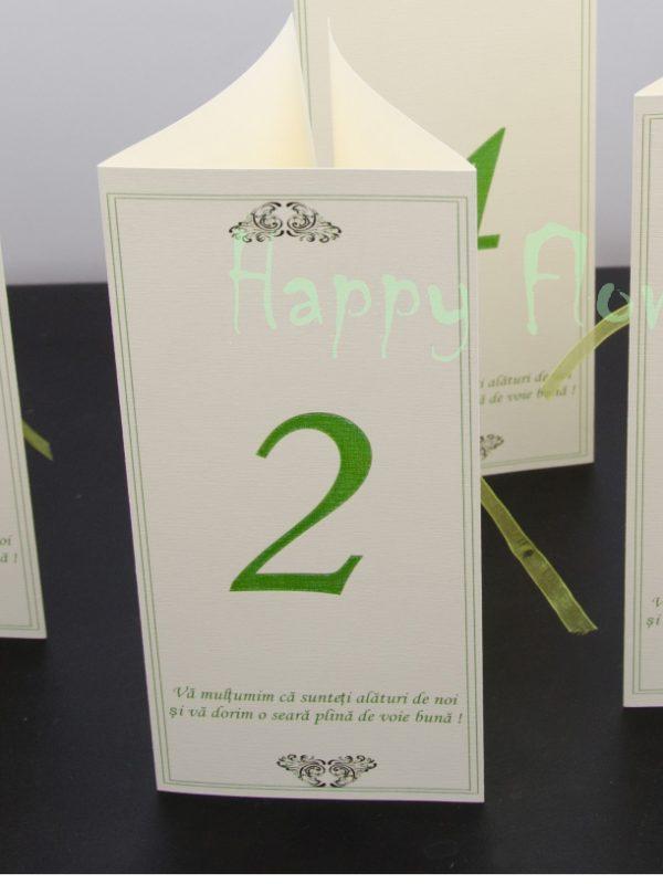 Numar de masa triunghi Green Trick
