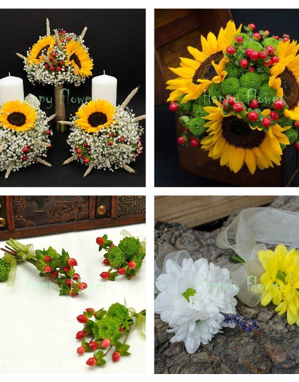 Pachet nunta floarea soarelui 2