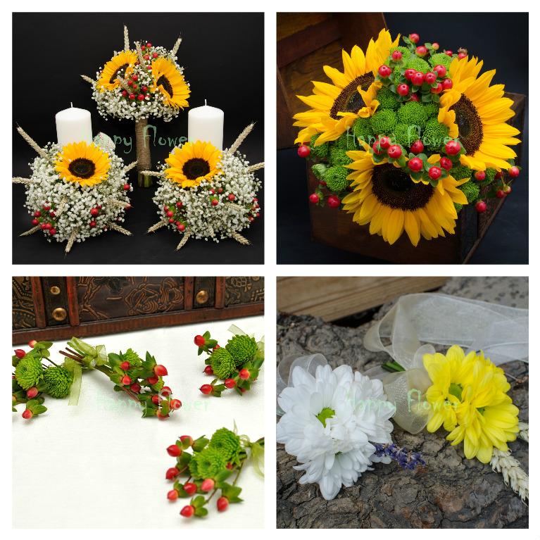 Buchete De Flori De Nuntă Foarea Soarelui Catalog Online