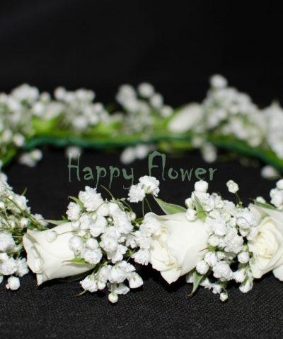coronita-miniroze-albe-floarea-miresei