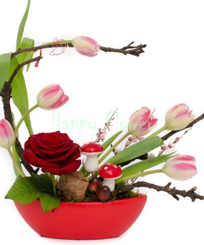 Aranjament-floral-primavara