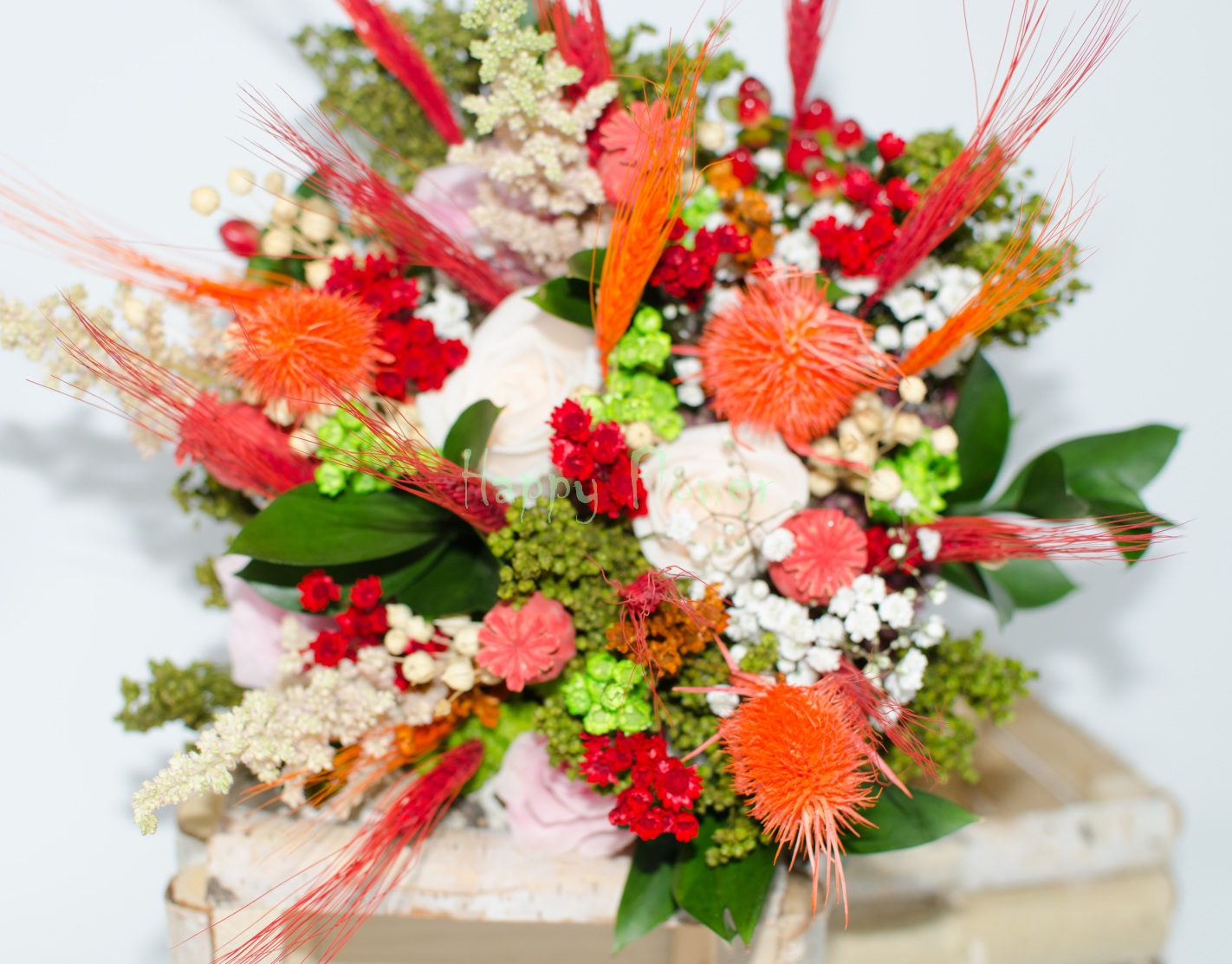 Buchet Mireasa Flori De Camp Bm4 300 Lei Flower Up