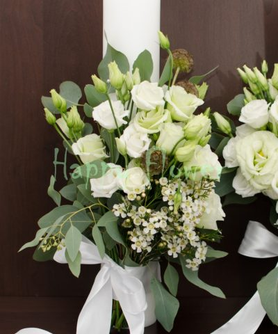 Lumanare-nunta-40cm-lisianthus-scabiosa-waxflower