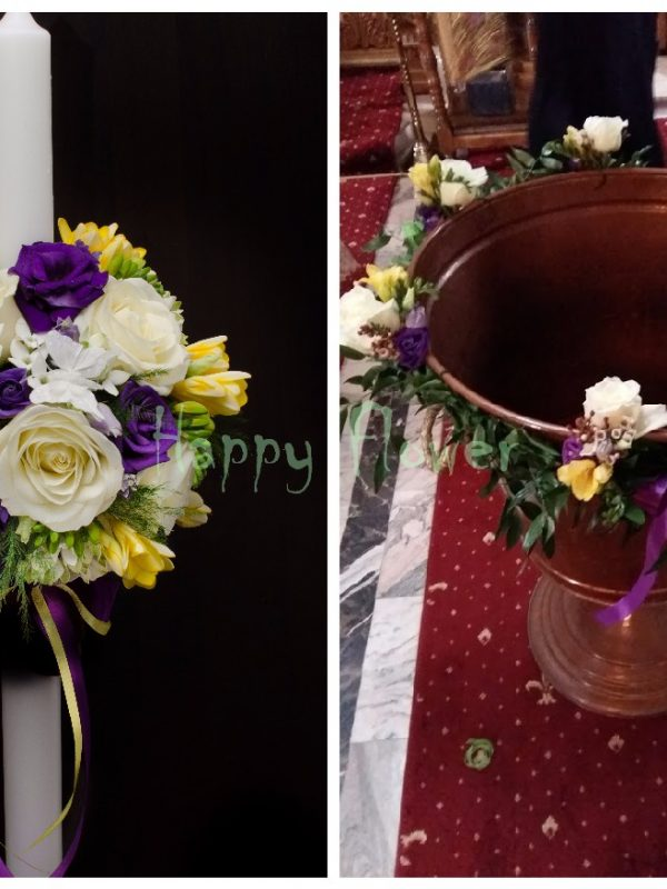 Pachet flori botez Standard 1