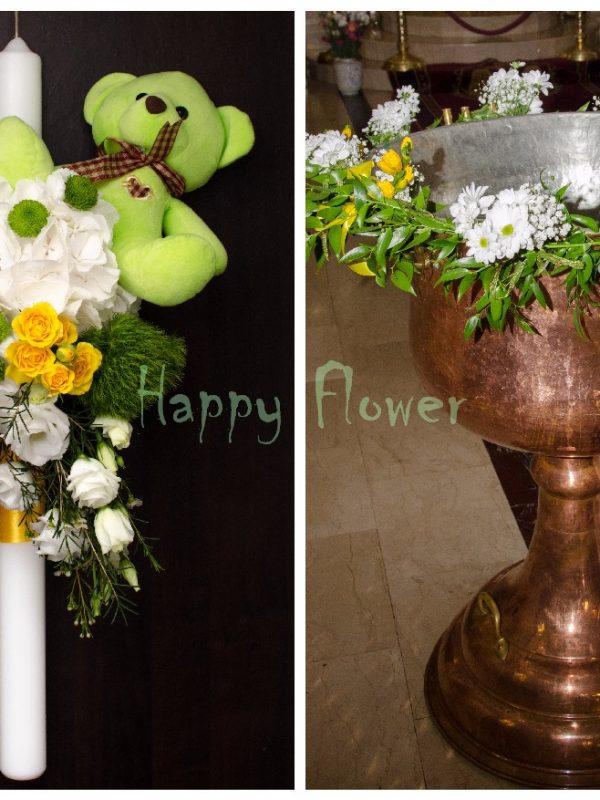 Pachet flori botez Standard 2