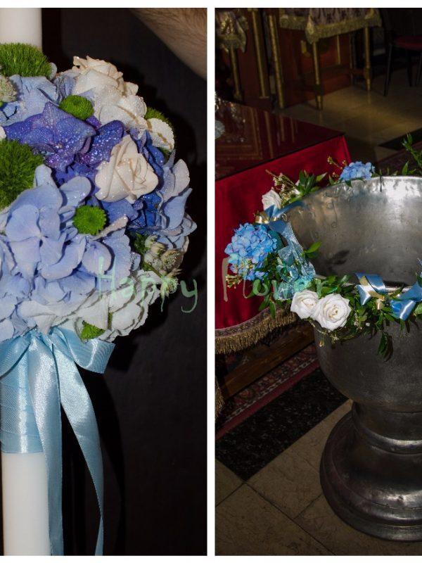 Pachet flori botez Standard 5