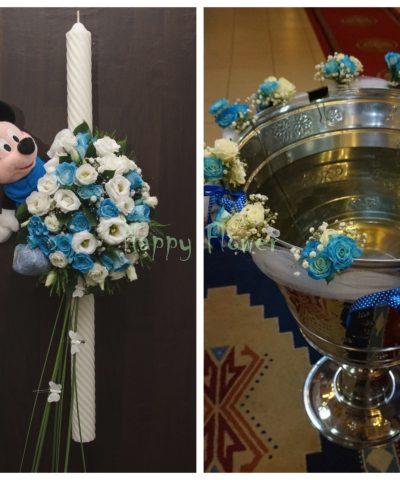 pachet-flori-botez-Mickey-Mouse