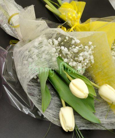 Buchet-3-lalele-floarea-miresei