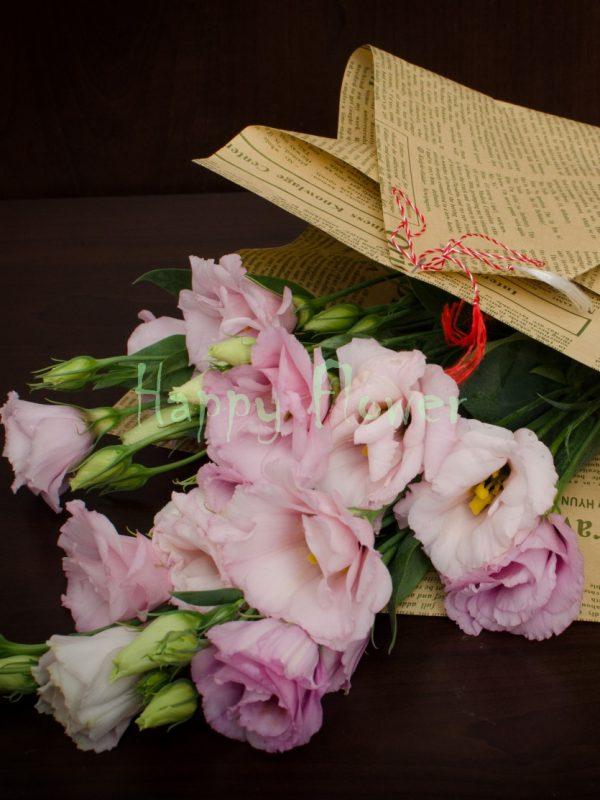 Buchetel-lisiantus-roz