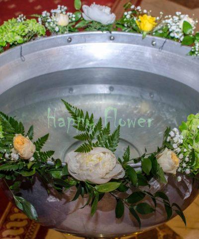 Decor-cristelnita-hortensii-bujori-trandafiri